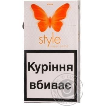 Сигареты style купить купить сигареты в ростове опт