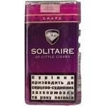 Сигари Solitaire LC Grape 20шт