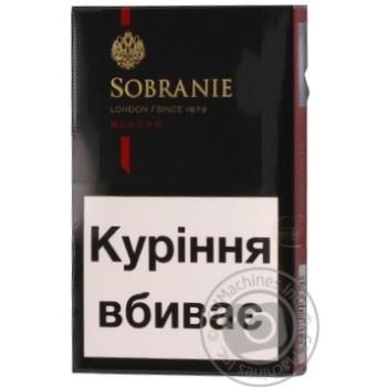 Цигарки Sobranie Blacks
