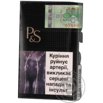 Сигареты Parker&Simpson Black - купить, цены на Фуршет - фото 8