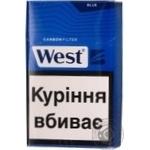 Сигареты West Carbon Blue пачка