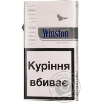Сигареты Winston Silver Super slim - купить, цены на Фуршет - фото 4