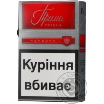 Сигареты Прима Серебряная красная - купить, цены на Фуршет - фото 4
