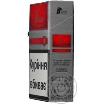 Сигареты Прима Серебряная красная - купить, цены на Фуршет - фото 5