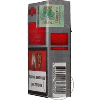 Сигареты Прима Серебряная красная - купить, цены на Фуршет - фото 7