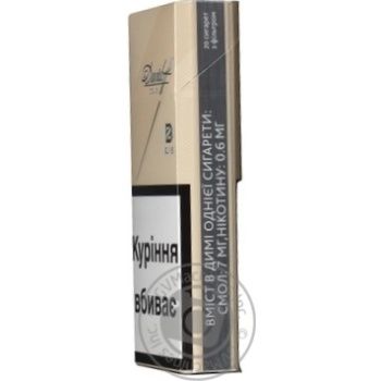 Сигареты Davidoff Gold Slims - купить, цены на Восторг - фото 2