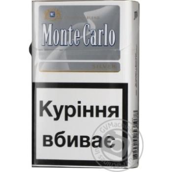 Cigarettes Monte carlo silver 25g