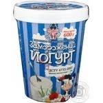 Мороженое Рудь Замороженный йогурт сливочное йогуртовое 600г