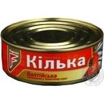 Fish sprat Flagman in tomato sauce 230g can