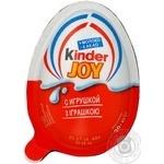 Шоколадне яйце Kinder Joy з іграшкою 20г