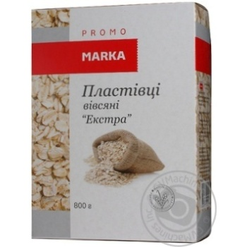 Oat Marka promo Extra oat 800g cardboard packaging - buy, prices for Novus - image 3