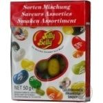 Цукерки-драже 10 смаків асорті Jelly Belly 50г