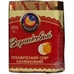 Сир плавлений 45% Вершковий Пирятин 90г