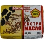 Масло Молочний світ Экстра сладкосливочное 82,5% 200г