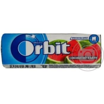 Гумка жувальна Orbit Соковитий кавун 14г