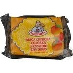 Творожная масса Добряна с курагой сладкая 4.5% 200г Украина