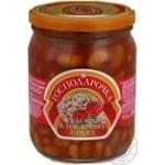Gospodarochka Beans in Hot Sauce 500g