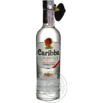 Ром Caribba Blanco 37,5% 0,5л