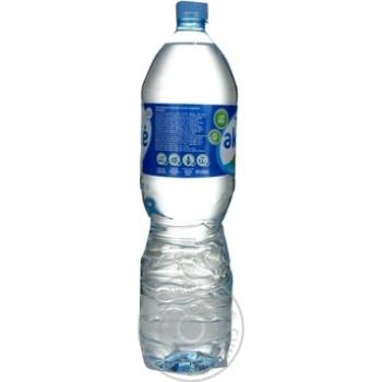 Вода Аквиль негазированная пластиковая бутылка 1500мл Литва - купить, цены на Novus - фото 2