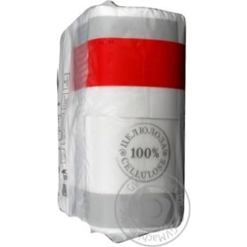 Папір туатетний Marka Promo двошаровий 4шт - купити, ціни на Novus - фото 5