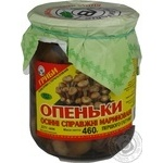Mushrooms honey fungus Volyn lis pickled 460g glass jar Ukraine