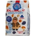 Морозиво Рудь Ескімос пломбір з курагою, чорносливом, родзинками та арахісом 450г