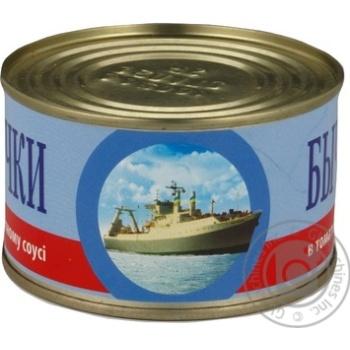Бычки IRF в томатном соусе 230г - купить, цены на СитиМаркет - фото 6