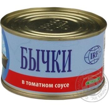 IRF Gobies in Tomato Sauce 230g - buy, prices for CityMarket - photo 7