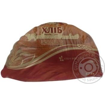Хлеб Цар хлиб Украинский половинка нарезной 475г