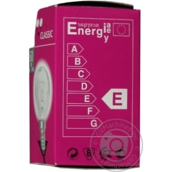 Лампа куля General Electric прозора 60Вт цоколь Е14 - купить, цены на Novus - фото 4