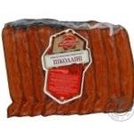Колбаса Натали Пиколини свинина сырокопченая вакумная упаковка Украина