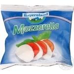 Сир Моцарелла кульки в розсолі Bayernland 45% 125г