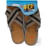 Обувь мужская Marizel комнатная HUK-500 - купить, цены на Фуршет - фото 1