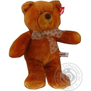 Іграшка Ведмідь коричневий сидячий 34 см арт. 61673A - купить, цены на МегаМаркет - фото 1