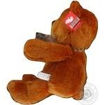 Іграшка Ведмідь коричневий сидячий 34 см арт. 61673A - купить, цены на МегаМаркет - фото 2