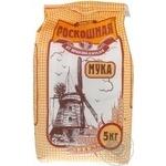 Борошно пшеничне Розкішна вищий гатунок 5кг