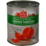 Fine Life Canned Cut Tomato