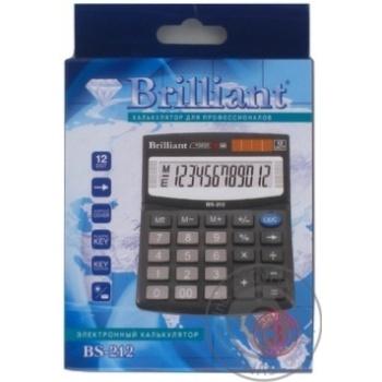 Калькулятор Brilliant BS-212