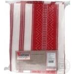 Voltex Melange Red Tablecloth 145*145cm