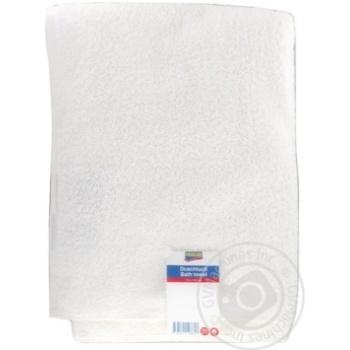 Полотенце махровое Fairline белое 70х140см 280 г/см
