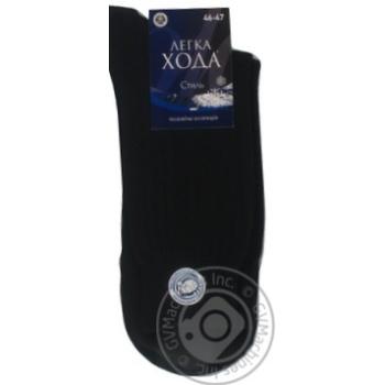 Шкарпетки чоловічі Легка Хода 0 5340 348 25 чорний З