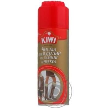 Спрей Kiwi для чистки замши и нубука 75мл - купить, цены на МегаМаркет - фото 2