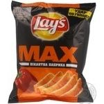 Chips Lay's Max with paprika 50g