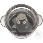 Tarrington house Pan Stainless Steel with lid 3l