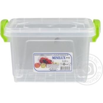 Контейнер пищевой Minibox №2 с крышкой 0,45л - купить, цены на Таврия В - фото 2