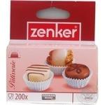 Форми для тістечок паперові, D3.5см, 200шт. Zenker