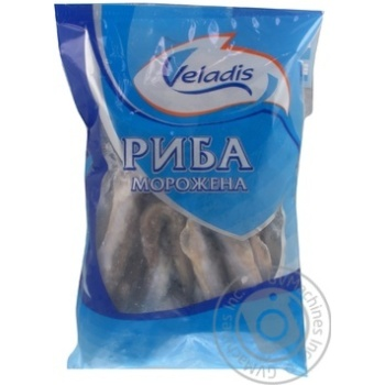 Fish capelin Veladis with the head 1000g