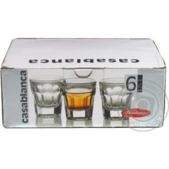 Набір стаканів Casablanca 52734 Pasabahce 6шт
