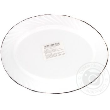 Блюдо Luminarc Trianon овальное 290мм - купить, цены на Метро - фото 2