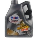 Масло Mobil Super3000 5W-40 4л